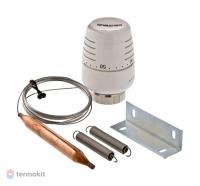 Головка VT.T5012 термостатическая с выносным накладным датчиком (20-60С)
