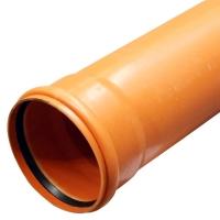 Фасонина.Труба d 160 х 2 м толщина стенки 3,6 мм Солекс