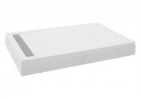 Душевой поддон прямоугольный AQUANET STONE LITE 1200х800 (поддон с ножками из лит.мамор/панель/сифон(199675/199679/199681/199682)