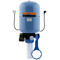 "Система Джилекс ""КРАБ-50"" для водоснабжения(гидроаккумулятор,реле давления,ф/колба,манометр,кран шар., обр.клапан, кронштейн с хомутом)"